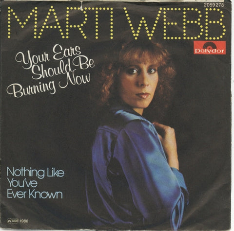 Marti Webb - Your Ears Should Be Burning Now
