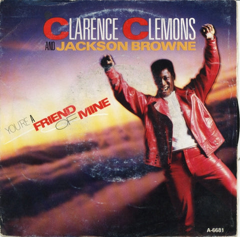 Clarence Clemons & Jackson Browne - You're A Friend Of Mine