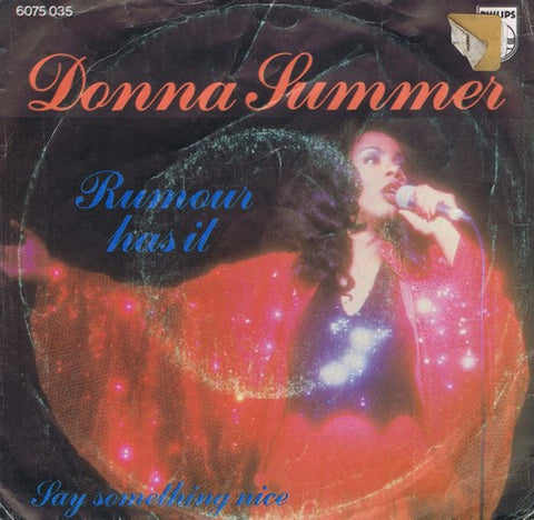 Donna Summer - Rumour Has It