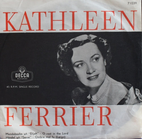 Kathleen Ferrier - O Rest In The Lord