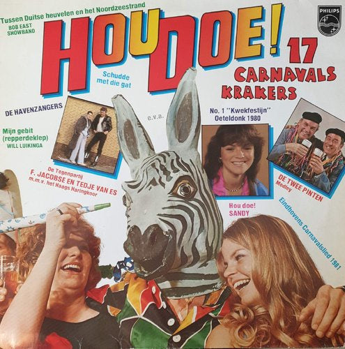 Various - Hou Doe! - 17 Carnavalskrakers (LP)