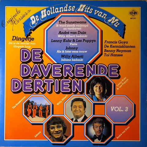 Various - De Daverende Dertien Vol. 3 (De Hollandse Hits Van Nu) (LP)