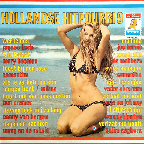 Various - Hollandse Hitpourri 9 (LP)