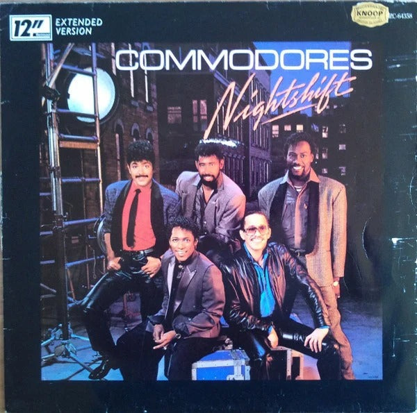 Commodores - Nightshift (Extended Version) (Maxi-Single)