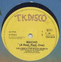 Celi Bee & The Buzzy Bunch - Macho (A Real, Real, One) - Macho (Maxi-Single)