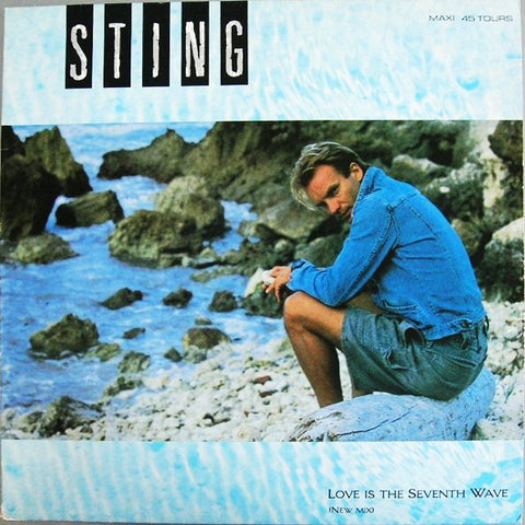 Sting - Love Is The Seventh Wave (New Mix) (Maxi-Single)