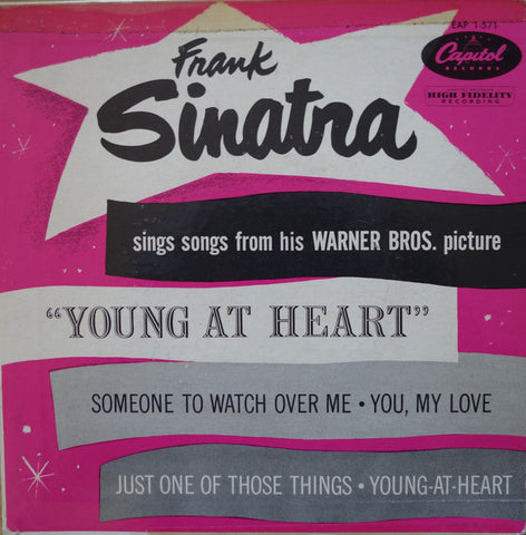 "Frank Sinatra - Sings Songs From His Warner Bros. Picture ""Young At Heart"" (EP)"