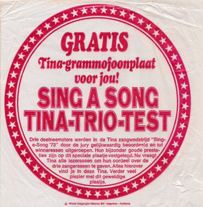 Various - Sing A Song '73 Tina-Trio-Test (Flexi-disc)