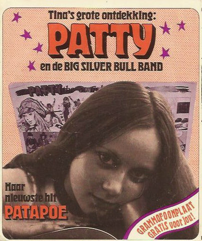 Patty En De Big Silver Bull Band - Patapoe (Flexi-disc)