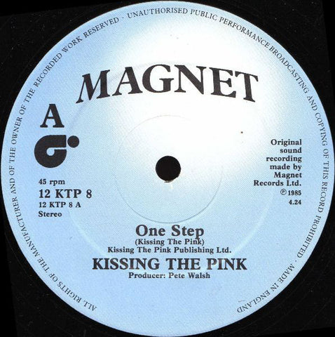 Kissing The Pink - One Step *