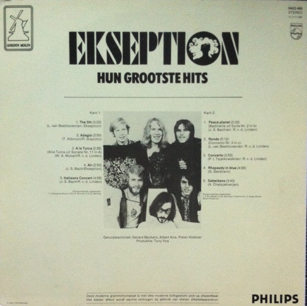 Ekseption ‎– Hun Grootste Hits (LP)