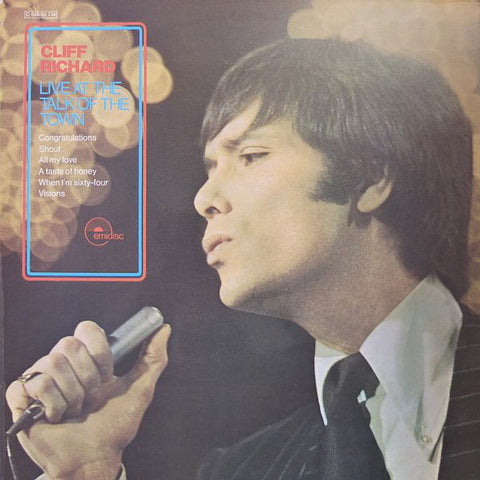 Cliff Richard  - Live At The Talk Of The Town (LP)