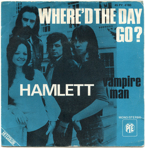 Hamlett - Where'd The Day Go