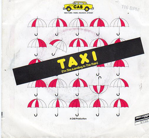 Yellow Cab - Taxi (I'm Sta.a.anding In The Rain)
