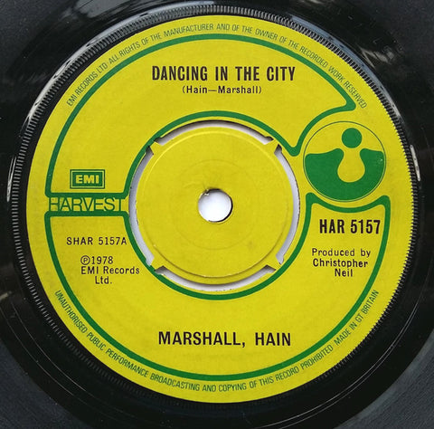Marshall Hain - Dancing In The City *