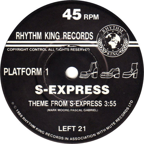 S-Express - Theme from S-Express (UK)