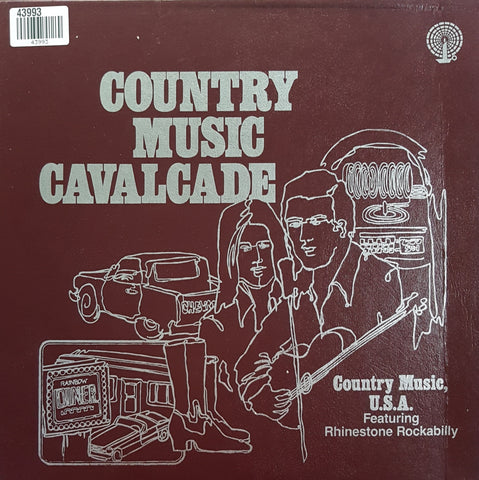 Various - Country Music Cavalcade - Country Music, U.S.A. Featuring Rhinestone Rockabilly (LP)
