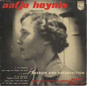 Aafje Heynis - Passion And Resurrection (EP)