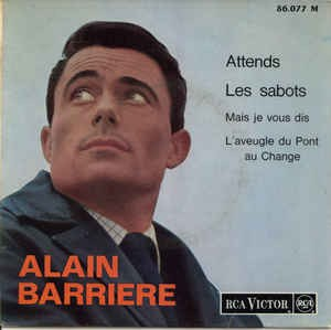 Alain Barriere - Attends (EP)