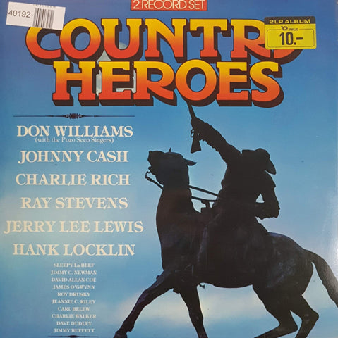 Various - Country Heroes (LP)