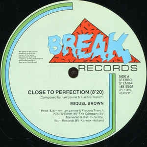 Miquel Brown - Close To Perfection (Maxi-Single)