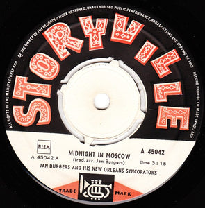Jan Burgers And His New Orleans Syncopators - Midnight In Moscow