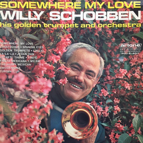 Willy Schobben - Somewhere My Love (LP)