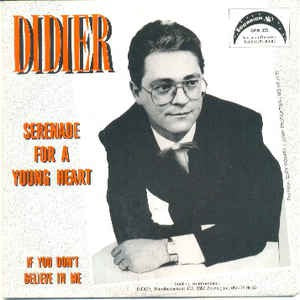 Didier - Serenade For A Young Heart
