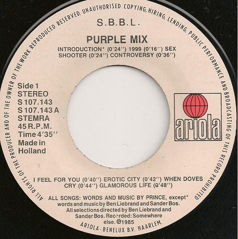 S.B.B.L. - Purple Mix