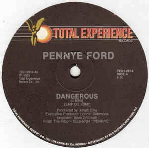 Pennye Ford - Dangerous (Maxi-Single)