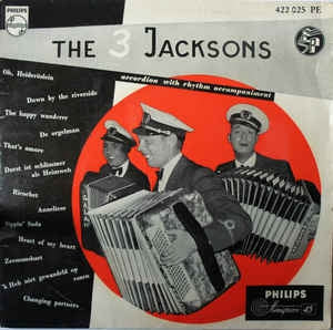 3 Jacksons - Accordion With Rhythm Accompaniment (EP)