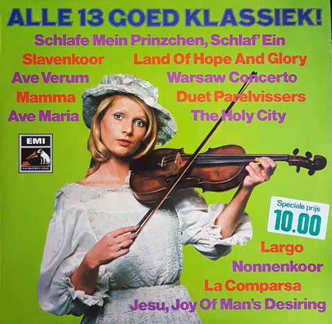 Various - Alle 13 Goed Klassiek (LP)