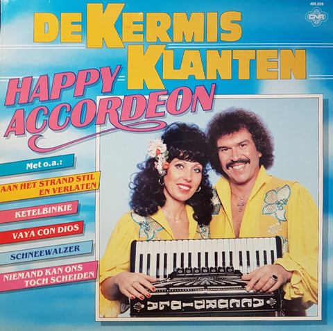Kermisklanten - Happy Accordeon (LP)