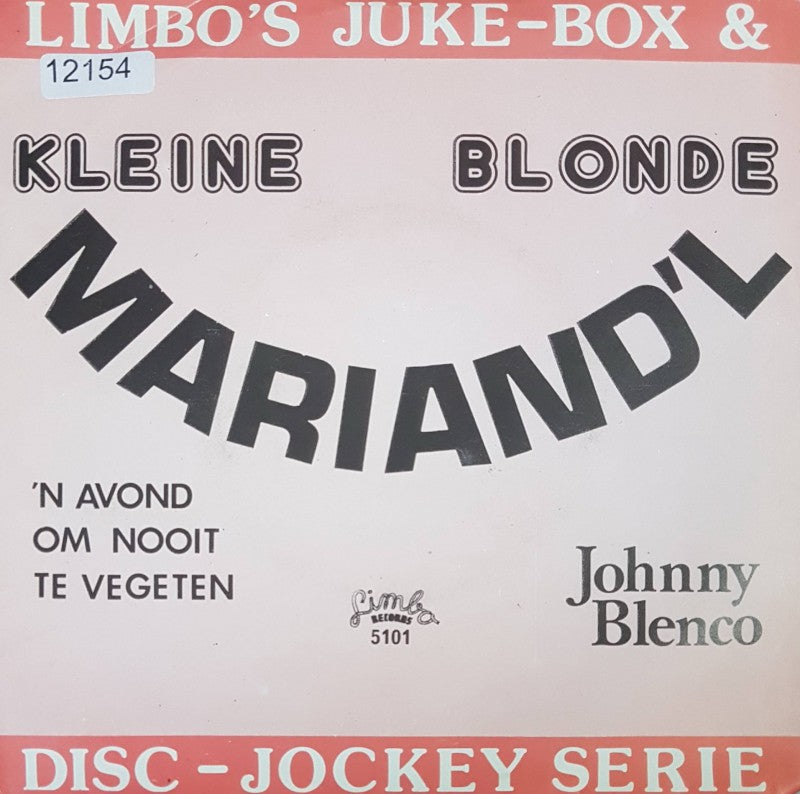 Johnny Blenco / Frankie Valjo - Kleine Blonde Mariand'l