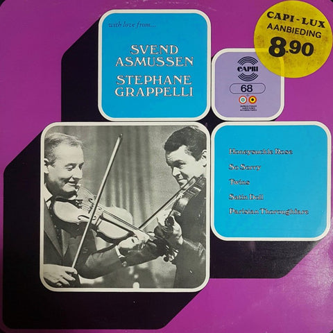 Svend Asmussen & Stephane Grappelli -With Love From (LP)