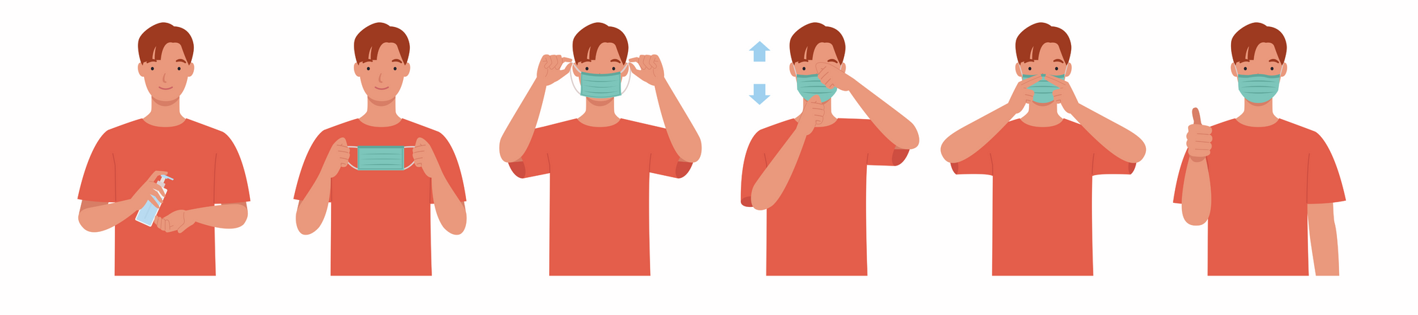 How to put on a Mask