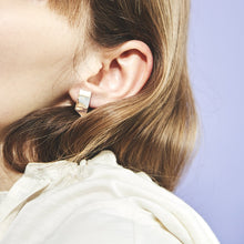 Load image into Gallery viewer, SLANT PIERCED EARRING 画像をギャラリービューアに読み込む, SLANT PIERCED EARRING