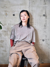Load image into Gallery viewer, STEP HEM T SHIRT - SHEER COTTON 画像をギャラリービューアに読み込む, STEP HEM T SHIRT - SHEER COTTON