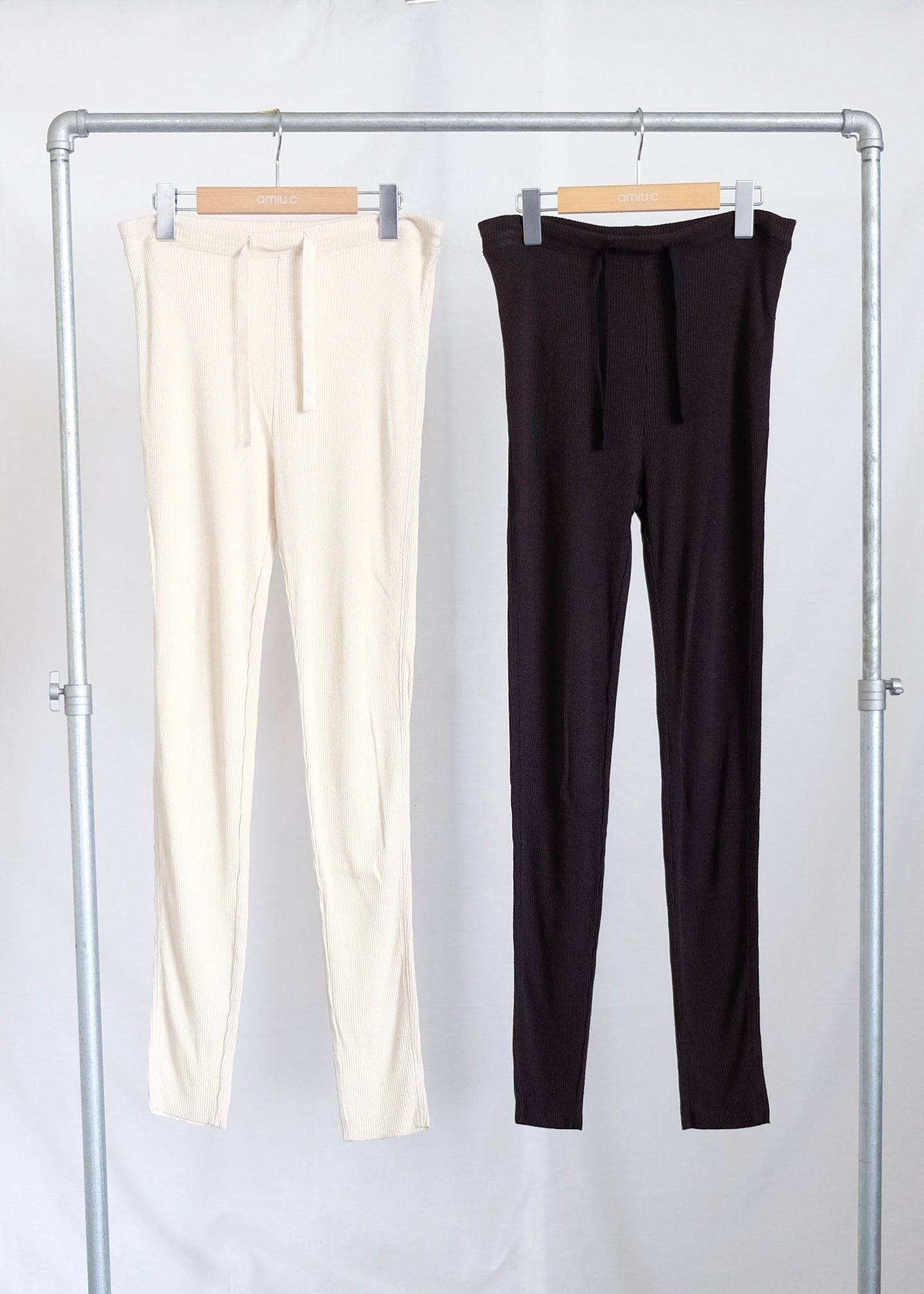SILK RIB - LEGGINGS