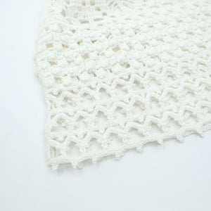 HAND KNITTED CAMI SOLE - WASHI