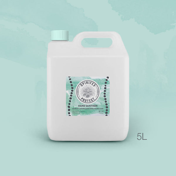 5 Litre SPINIFEX PROTECT Hand Sanitiser - GEL or LIQUID