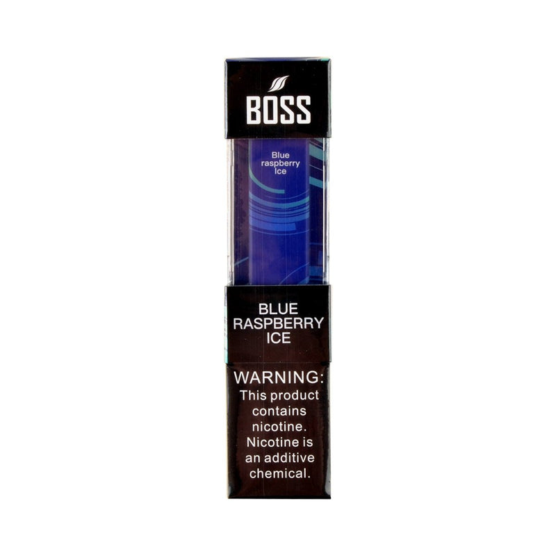 Boss Disposable Pod Device Blue Raspberry Ice