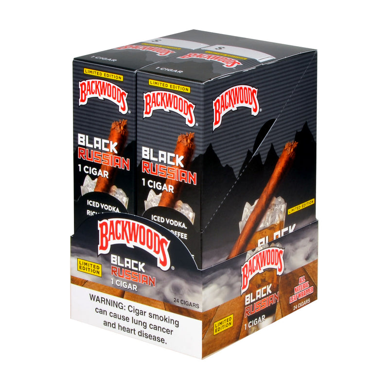 Backwoods Black Russian Cigars Single Pack of 24
