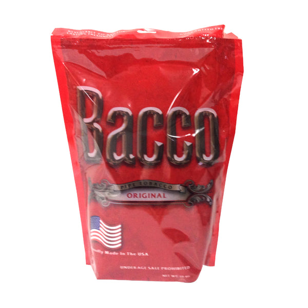 Bacco Original Pipe Tobacco 16 oz. Bag