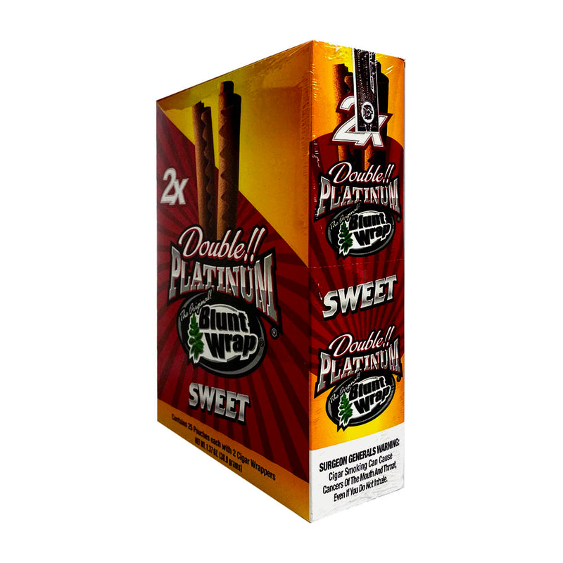 Double Platinum Sweet Wraps 25 Pouches of 2