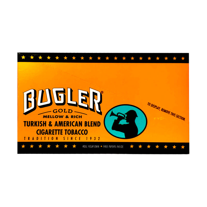 Bugler Tobacco 12 Pouches of 0.65oz Gold