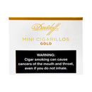 Davidoff Mini Cigarillos Gold 5 Packs of 20