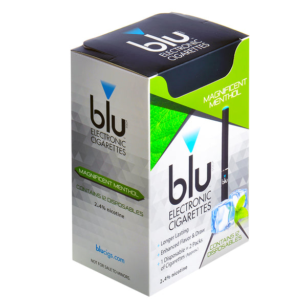Blu Disposables E-Cigs Magnificent Menthol Box of 12