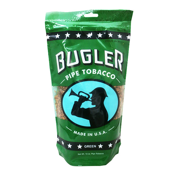 Bugler Green (Menthol) Pipe Tobacco 10 oz. Bag