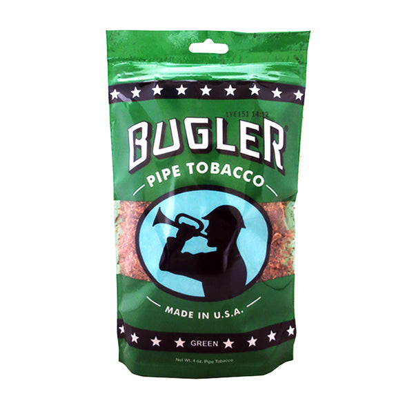 Bugler Green (Menthol) Pipe Tobacco 4 oz. Bag